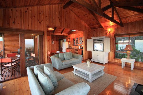 1 Schlafzimmer-Chalet Lounge