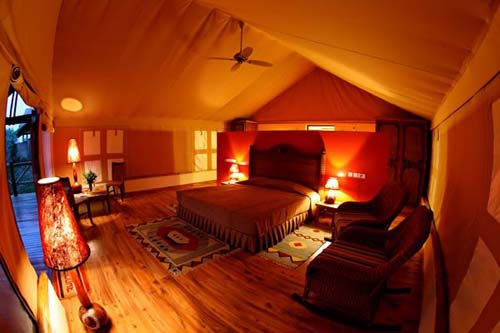 Mweya Safari Lodge - Luxury Tent